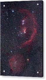 Orion Nebulae Acrylic Print