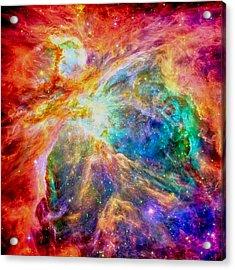 Orions Heart-where The Stars Are Born Acrylic Print