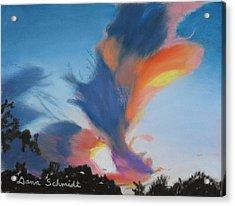 Orlando Sunset 9-3-13 Acrylic Print