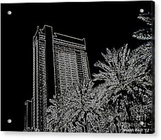 Orleans High Rise Acrylic Print