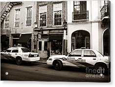 Orleans Pd Acrylic Print by John Rizzuto