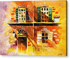 Acrylic Print featuring the painting Orleans Vignette by Al Brown