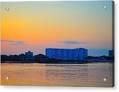 Ormond Beach Acrylic Print by Karl Davis