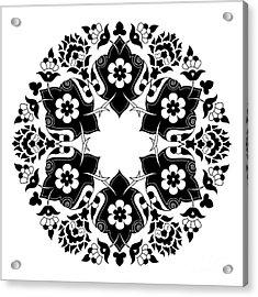Ornament And Design Ottoman Decorative Acrylic Print