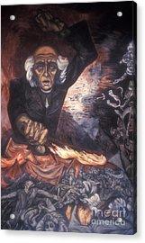 Orozco Mural Guadalajara Acrylic Print