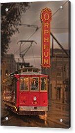 Orpheum Theater Memphis Acrylic Print