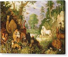 Orpheus Charming The Animals, C.1618 Acrylic Print