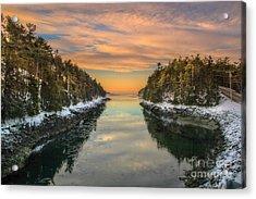 Orrs Island Maine Acrylic Print
