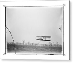 Orville Wright Flight 85 Acrylic Print by MMG Archives