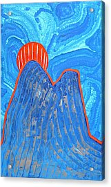 Os Dois Irmaos Original Painting Sold Acrylic Print by Sol Luckman