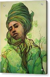 Osanyin Acrylic Print