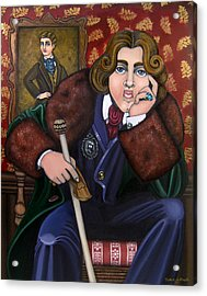 Oscar Wilde And The Picture Of Dorian Gray Acrylic Print