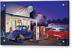Oscar's General Store Acrylic Print by Bruce Kaiser