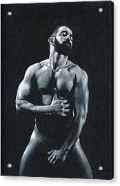 Oscuro 11 Acrylic Print by Chris  Lopez