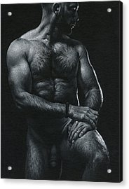 Oscuro 17 Acrylic Print by Chris Lopez