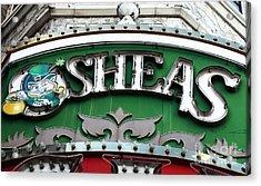 O'sheas Acrylic Print by John Rizzuto
