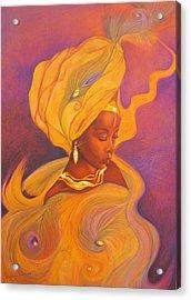Oshun Goddess Acrylic Print