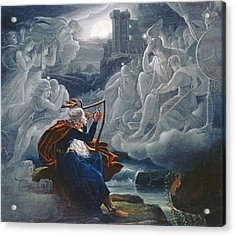 Ossian Conjures Up The Spirits On The Banks Of The River Lorca Acrylic Print