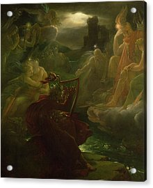 Ossian Conjuring Up The Spirits  Acrylic Print