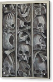 Ossuary Acrylic Print