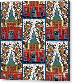 Ostermalm Saluhall  Acrylic Print by Leif Sodergren