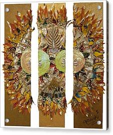 Osun Sun Acrylic Print