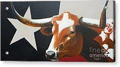 O'texas Acrylic Print by David Ackerson