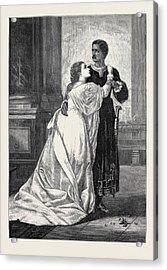 Othello And Desdemona Acrylic Print