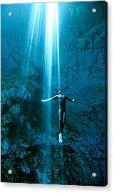 Otherworlds Acrylic Print by One ocean One breath