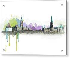 Ottawa Skyline 18 Acrylic Print by Mahnoor Shah