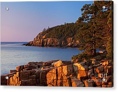 Otter Cliffs Maine Acrylic Print