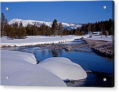Acrylic Print featuring the photograph Otter Creek by Jack Bell