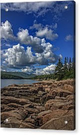 Otter Point Afternoon Acrylic Print