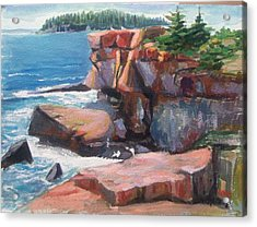 Otter Point_acadia_main Acrylic Print