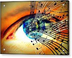 Ottico - Sonoro Acrylic Print by Paulo Zerbato
