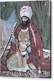 Acrylic Print featuring the painting Ottoman Empire by Vikram Singh