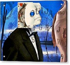Ouija Acrylic Print by James Stough