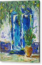 Our Blue Door Acrylic Print