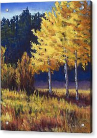 Our Brilliant Fall Acrylic Print
