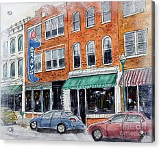 Our Franklin Acrylic Print by Tim Ross