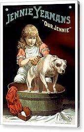 Our Jennie Acrylic Print by Terry Reynoldson
