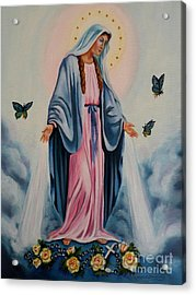 Our Lady Of Grace I Acrylic Print