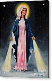 Our Lady Of Grace II Acrylic Print