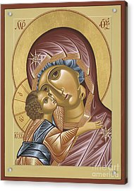 Our Lady Of Grace Vladimir 002 Acrylic Print
