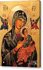 Our Lady Of Perpetual Help Icon II Acrylic Print