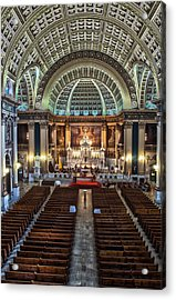 Our Lady Of Sorrows Basilica IIi Acrylic Print by Roger Lapinski