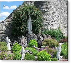 Our Lady Of The Woods Shrine Lll Acrylic Print
