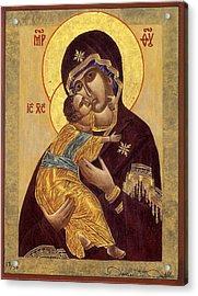 Our Lady Of Vladimir Acrylic Print