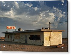 Our Old Cafe Acrylic Print