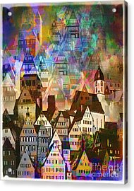 Our Old Town Acrylic Print
